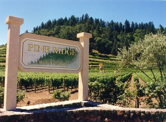 pine ridge entrance 10 Family Friendly Wineries in Napa Valley