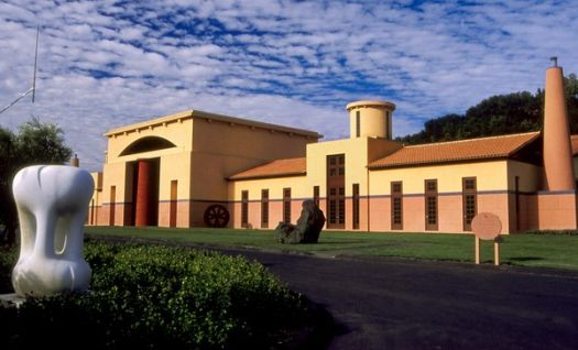clos pegase winery 10 Must See Wineries on Napa Valleys Silverado Trail