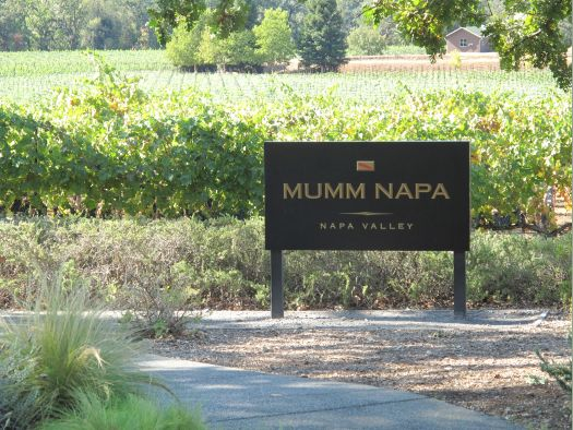 mumm napa valley sign 10 Must See Wineries on Napa Valleys Silverado Trail
