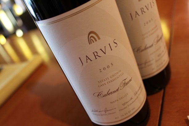 Jarvis Cabernet Franc 2005 1 Wine & Cheese Pairing with Wines from 10 Napa Valley Wineries