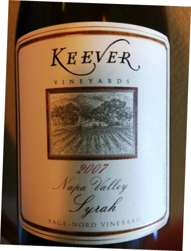 keever syrah Wine & Cheese Pairing with Wines from 10 Napa Valley Wineries