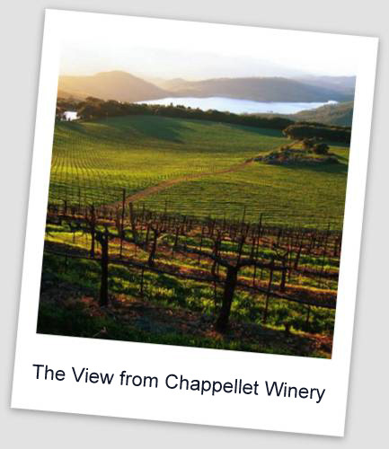 Chappellett Winery1 Special Tastings & Tours in Napa Valley