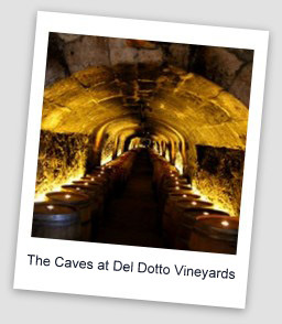 Del Dotto2 Special Tastings & Tours in Napa Valley