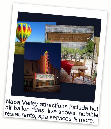 Napa Valley attractions1 Special Tastings & Tours in Napa Valley