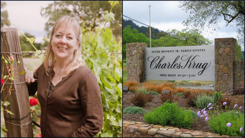 Charles Krug Winemaker Stacy Clark1 A Toast to Womens History Month & Female Winemakers in Napa Valley