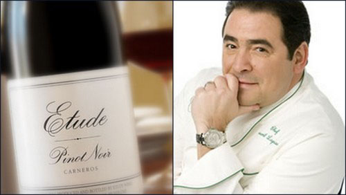 emeril lagasse etude Food Pairings for Your Napa Valley Wine
