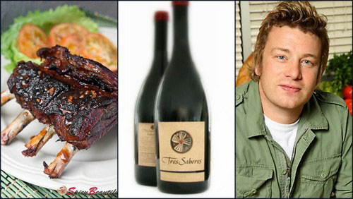 jamie oliver tres sabores spicy ribs Food Pairings for Your Napa Valley Wine
