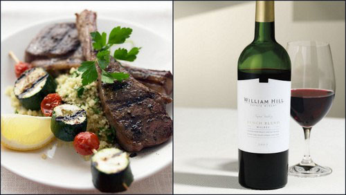 william hill lamb chops Food Pairings for Your Napa Valley Wine