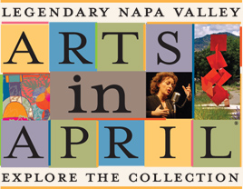 arts in april logo Napa Valley Arts in April