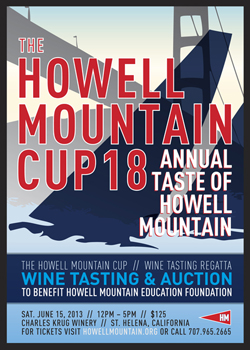 Howell Mountain Cup 18th Annual Taste of Howell Mountain
