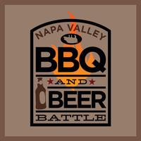 BBQ Battle logo BBQ & Beer Battle in Napa Valley