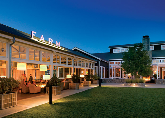 FARM at Carneros Inn Napa Valley Restaurants Open Christmas Eve & Christmas Day