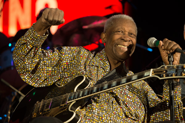 B.B. King in a Captivating Performance