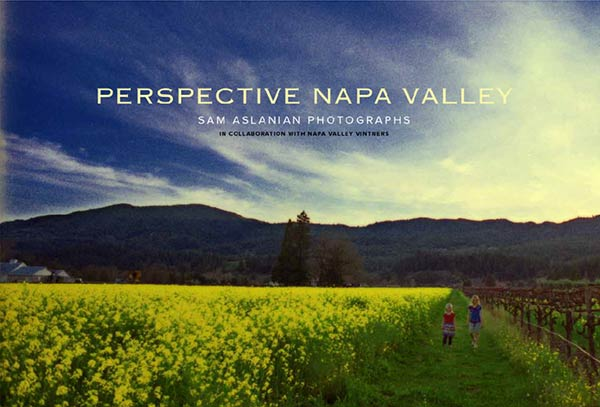 The Cover for Perspective Napa Valley
