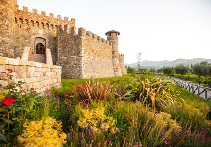 Castello di Amorosa Celebrating Easter Sunday in Napa Valley