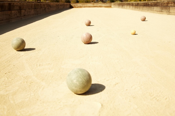 Work Up a Thirst & an Appetite at Solage Calistoga's Bocce Courty on Monday Evenings Before Heading to Solbar